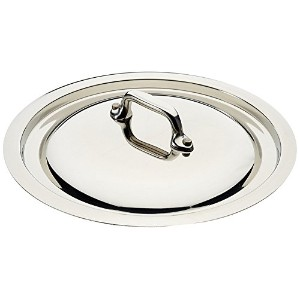 High Quality Made In France M'Cook 5 Ply Stainless Steel 5218.16 6.3 Inch Lid, Cast Stainless Steel...