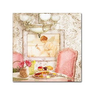 商標FineアートホテルReginaパリTea Room by Tina Lavoie 14x14 ALI10982-C1414GG