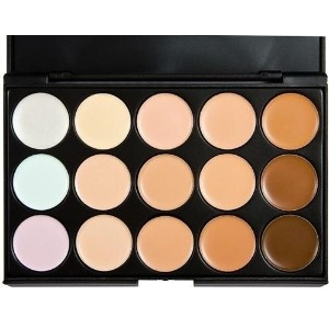 15 colors palette make up eye shadow mac women s fashion camouflage (Color: Multicolor)