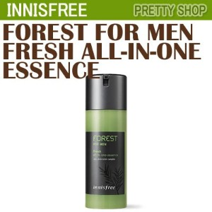 ★innisfree★[homme fresh essence] forest for men fresh all in one essenceフォレストフォーメンフレッシュオールインワ