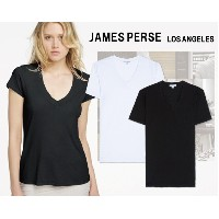 james perse ジェームスパース S/S Relaxed Casual V-Neck ショートスリーブ 無地 Vネック Tシャツ
