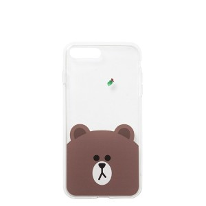Line Friends Store Official Jelly Phone Case for iPhone 7 or iPhone 7 Plus