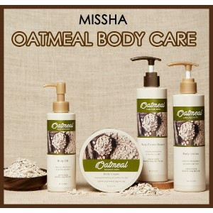 [MISSHA*ミシャ]オートミールエンリッチ ボディーケア(OATMEAL INRICHED BODY CARE)