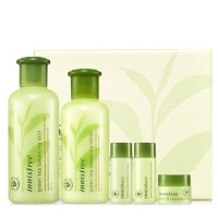 ★innisfree★(set)green tea balancing special skin care set 緑茶バランシング専用スキンケアセット