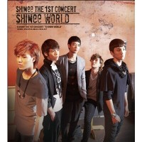 SHINee (シャイニー) - 1st Concert Album [SHINee World] (2CD+44p Booklet)