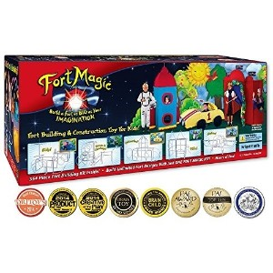 (工作) Fort Magic: Fort Building  Construction Toy Kit-FM001  polo