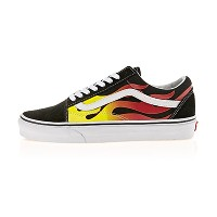 【送料無料】 VANS OLD SKOOL VN0A38G1PHN (FLAME) BLACK/BLACK/TRUE WHITE (並行輸入品)  LUKVERY