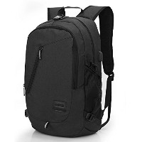 (パソコンバック) CoolBELL 15.6 Inch Laptop Backpack With USB Charging Port Function / Water-resistant Knap