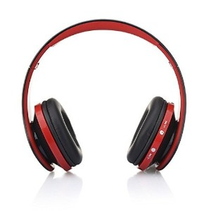 AutumnFall Wireless Bluetooth On-Ear Stereo Headphone AH2, Over-Ear Headset with Built-in Microphone