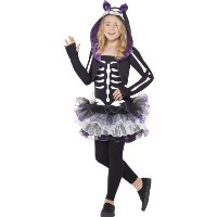 (Smiffy s) Skelly Cat Costume, Halloween Children s Fancy Dress, Large Age 10-12