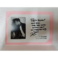 [KPOP] SM TOWN  公式 GOODS -  TVXQ  東方神起 UKNOW Birthday Event Limited Postcard