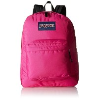 [アメリカ直送]JanSport Mens Classic Mainstream Superbreak Backpack - Cyber Pink / 16.7H X 13W X 8.5D