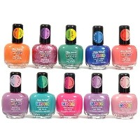 Mia Secret Mood Nail Lacquer Color Changing Nail Polish 10pc Set (10 Different Colors) Full Size...