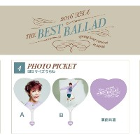 JYJ 2016 XIA THE BEST BALLAD SPRING TOUR コンサート 公式グッズ Photo Picket