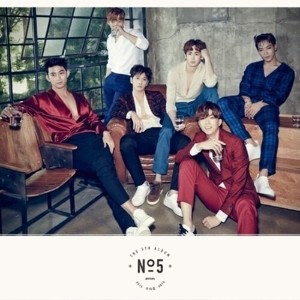 2PM - No.5 (5th Album Random Cover) [CD + Photo Book + Poster + Gift]