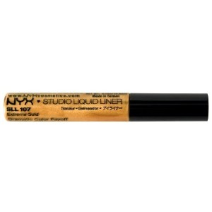 [アメリカ直送]NYX Studio Liquid Liner, Extreme Gold, 0.19 Ounce