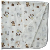 【Rene Rolfe 5 Pk.Soft Flannel Baby Girls Receiving Blankets 100% Cotton Pink and White by Rene...