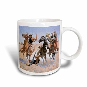 3drose BLN American West Fineアートコレクション – Aiding a Comrade Frederic Remington American West – マグカップ...
