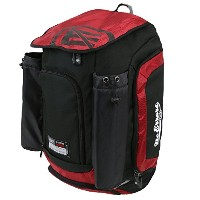 """The RBP野球バックパックバッグ–Holds 2Bats & Other野球機器–ポケットfor個人アイテム&スマートフォン–22"""" x 12"""" x 12"""" レッド"""
