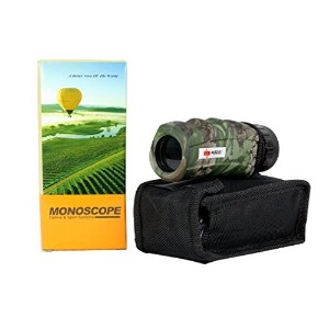 10X25 Perrini Woodland Camo Monocular with Nylon Sheath Nice One [並行輸入品]