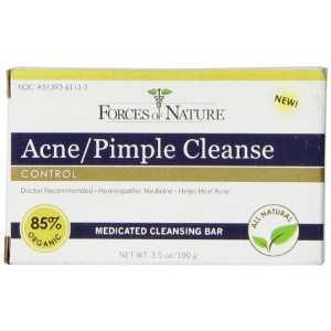 Forces of Nature Organic Acne Pimple and Cleanse - 3.5 oz