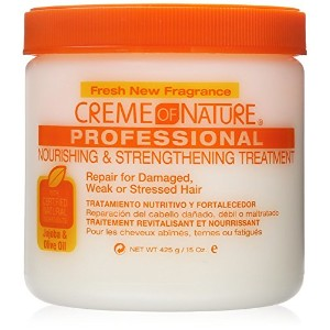 Creme of Nature Nourishing and Strengthening Treatment with Jojoba and Olive Oil, 15 Ounce by Creme...