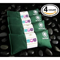 Happy Wrapsテつョ Yoga Lavender Eye Pillows - 4 Pieces - Green Cotton by Happy Wrapsテつョ