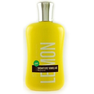 (バスアンドボディワークス ボディローション) Bath  Body Works Lemon Signature Vanillas Body Lotion 8 oz (236 ml)
