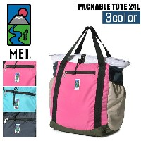 【MAX500円OFFクーポン配布】 エムイーアイ MEI バッグ パッカブル トート 24L MEI PACKABLE TOTE 24L 000-181003 メイ かばん 鞄 トートバッグ ロゴ...