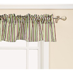 Bedtime Originals Jungle Buddies Window Valance, Brown/Yellow by Bedtime Originals