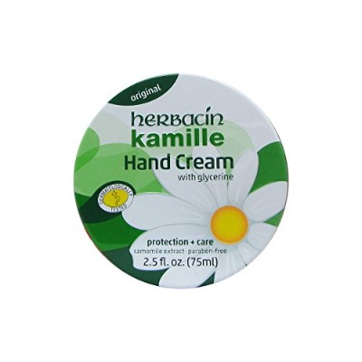 Herbacin Wuta Kamille Hand Cream Tin 75ml [並行輸入品]
