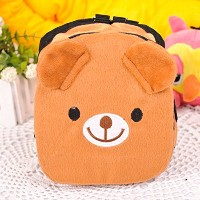 Zhhlinyuan ドッグ用 リュック バックパック ハーネス ペット用品 調節可能 小型犬 中型犬 Cute Rucksack for Pet Large Dog Outdoor Travel...