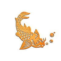 High Quality Koi Die Template - IN-042