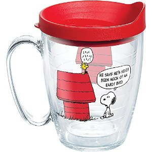 Tervis Peanuts Early Bird Wrap with Lid Mug