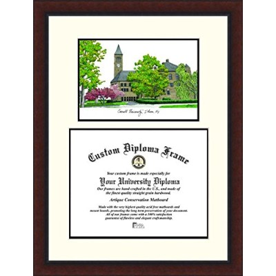 Campusimages NY996LV Cornell University Legacy Scholar Diploma Frame