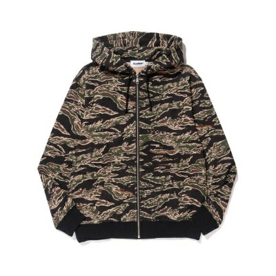 XLARGE(エクストララージ)TIGER CAMO FULLZIP HOODED SWEAT