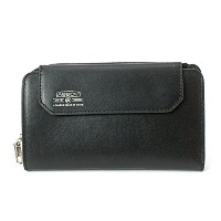 AS2OV アッソブ LEATHER MOBILE SHORT WALLET 081601 (BLACK)