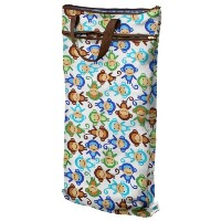 Planet Wise Hanging Wet/Dry Bag, Monkey Fun by Planet Wise