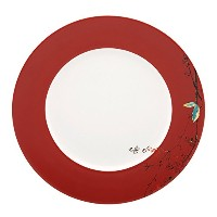 High Quality Simply Fine Scarlet Chirp Dinner Plate