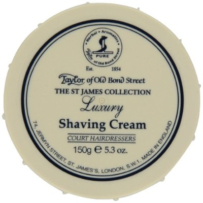 Taylors of Old Bond Street Shaving Cream (150g, St James)