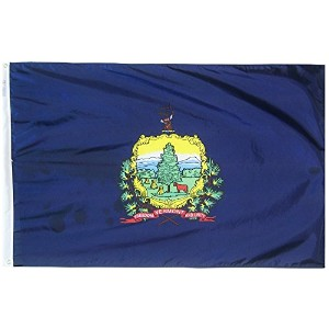 High Qualitynt State Flag 3x5 ft. Nylon SolarGuard Nyl-Glo 100% Made in USA to Official State...