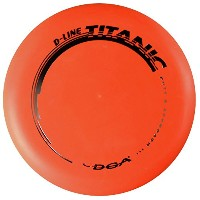 DGA d-lineタイタニックPutt & ApproachゴルフDisc [ Colors May Vary ]