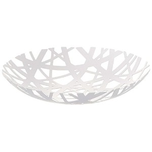 High Quality Tower Fruit Bowl, White