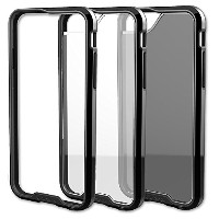 【Qmadix R Series Case for iPhone 6 Plus - Retail Packaging - Black/Clear by Qmadix】 b00oqgbqde