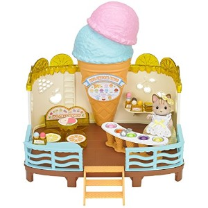 【Calico Critters Seaside Ice Cream Shop】