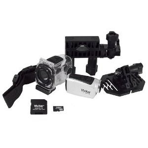 ☆春の特別企画☆エントリーで当店全品ポイント5倍!【Compact Sports Digital Video Camcorder Vivitar DVR685HD 5.1 Megapixels...