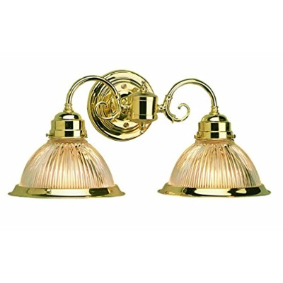 High Quality 503029 Millbridge 2 Light Wall Light, Polished Brass