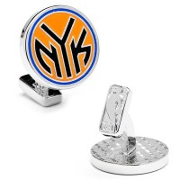 【New York Knicks Cufflinksノベルティ1 x 1 in】 b008xn1pd2