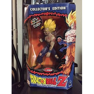 "【DRAGONBALL Z SUPER SAIYAN GOHAN 8"" ACTION FIGURE IRWIN TOYS S.S. COLLECTOR'S EDITION スーパーサイヤ人 孫 悟飯..."