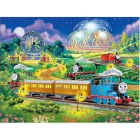 【Thomas at the Carnival 100 pcグローin theダークパズル】